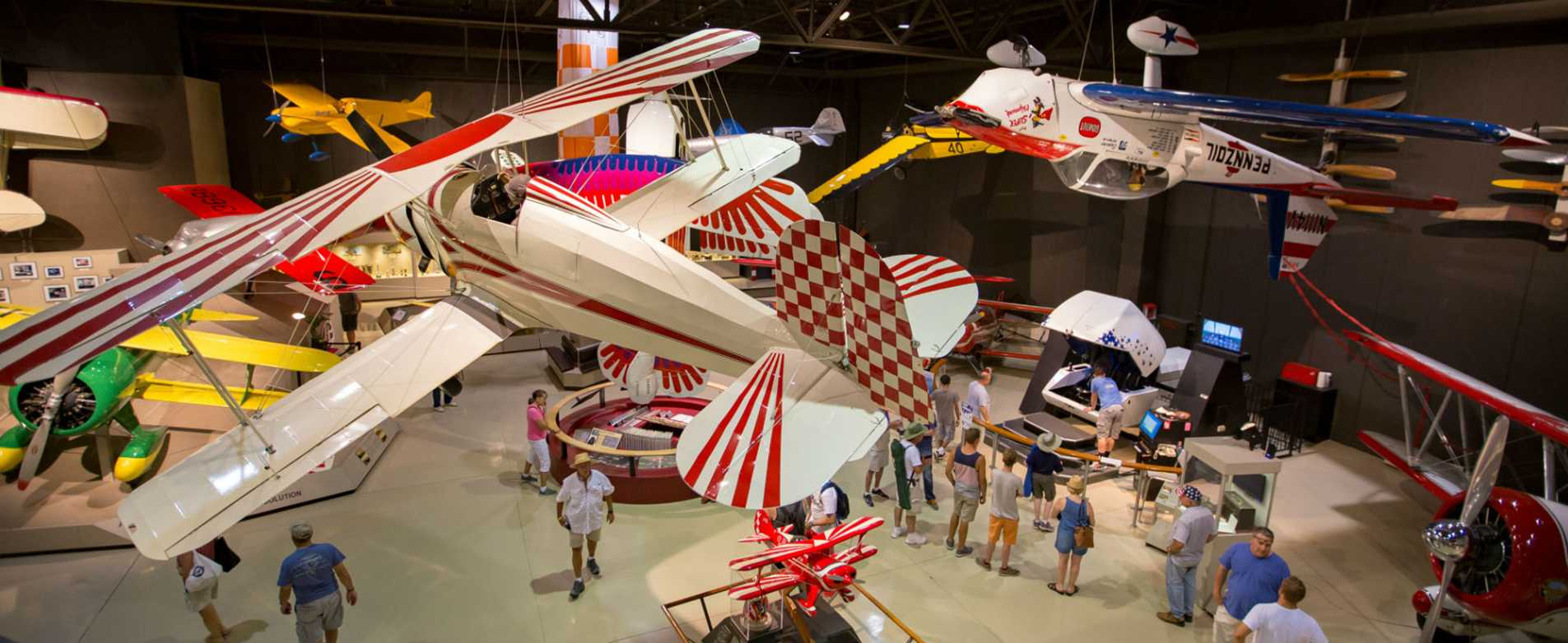 Airplane Exhibit at EAA Aviation Museum