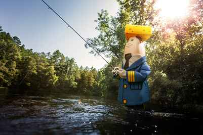 Otto Fishing Up North