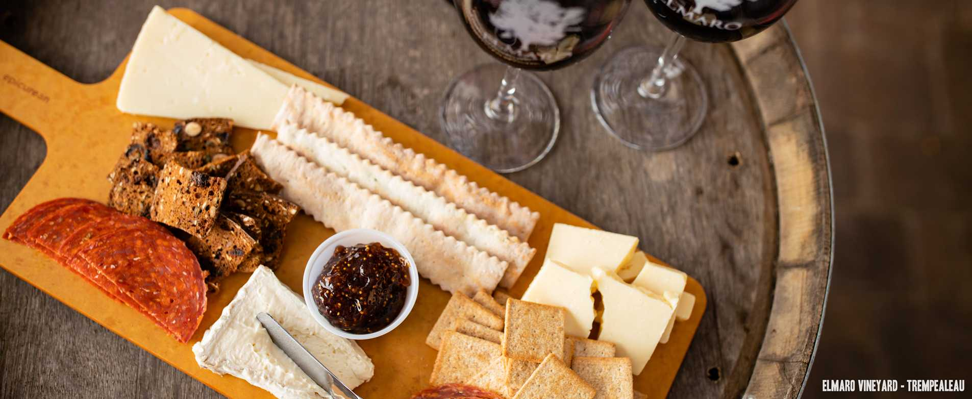 El Mara Vineyard Charcuterie Board