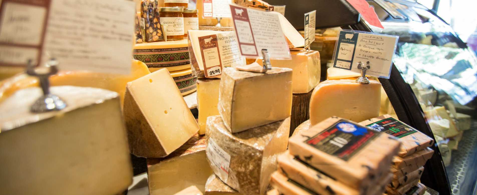 Cheese Blocks at Fromagination 2