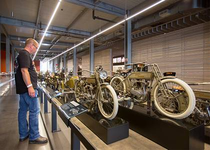 Tour the Harley-Davidson Museum