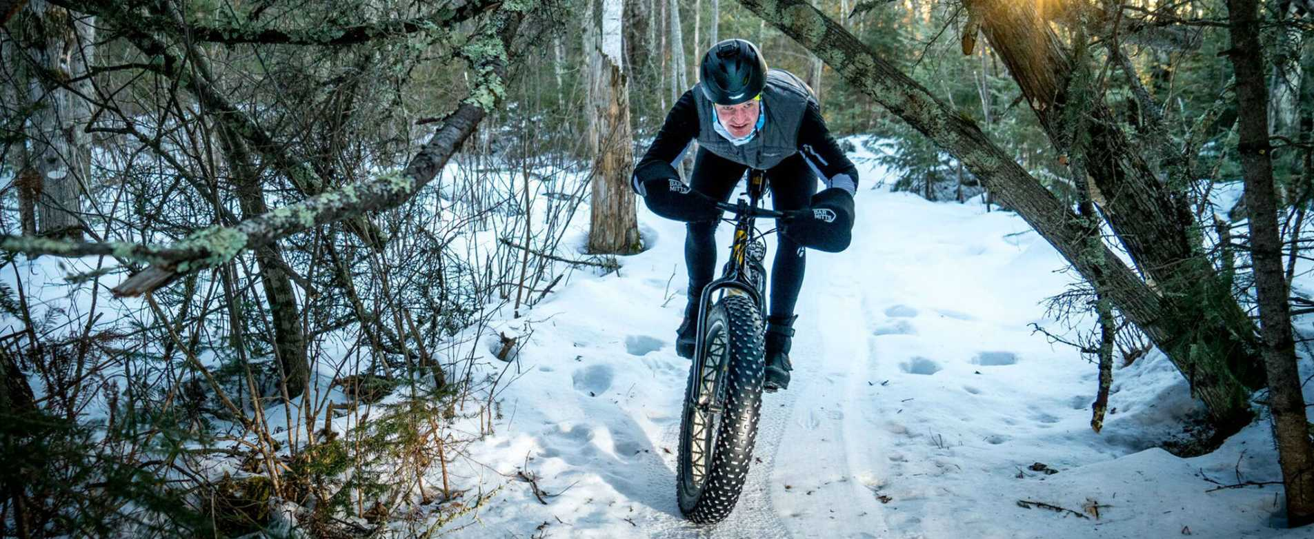 CAMBA Fat Bike Trails in Seely