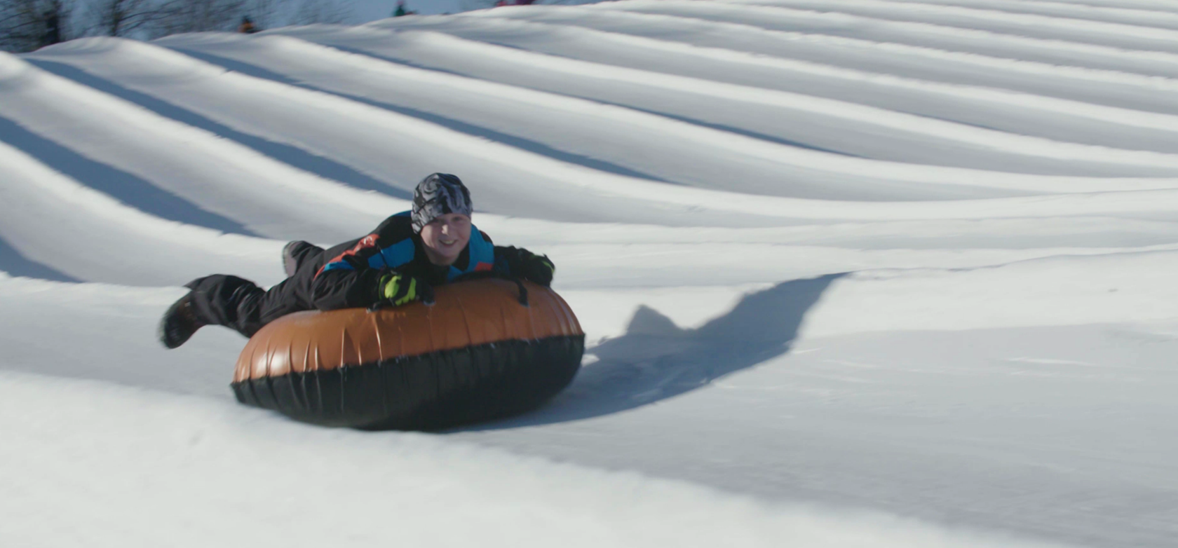 Winter Getaways - Sunburst Park Tubing