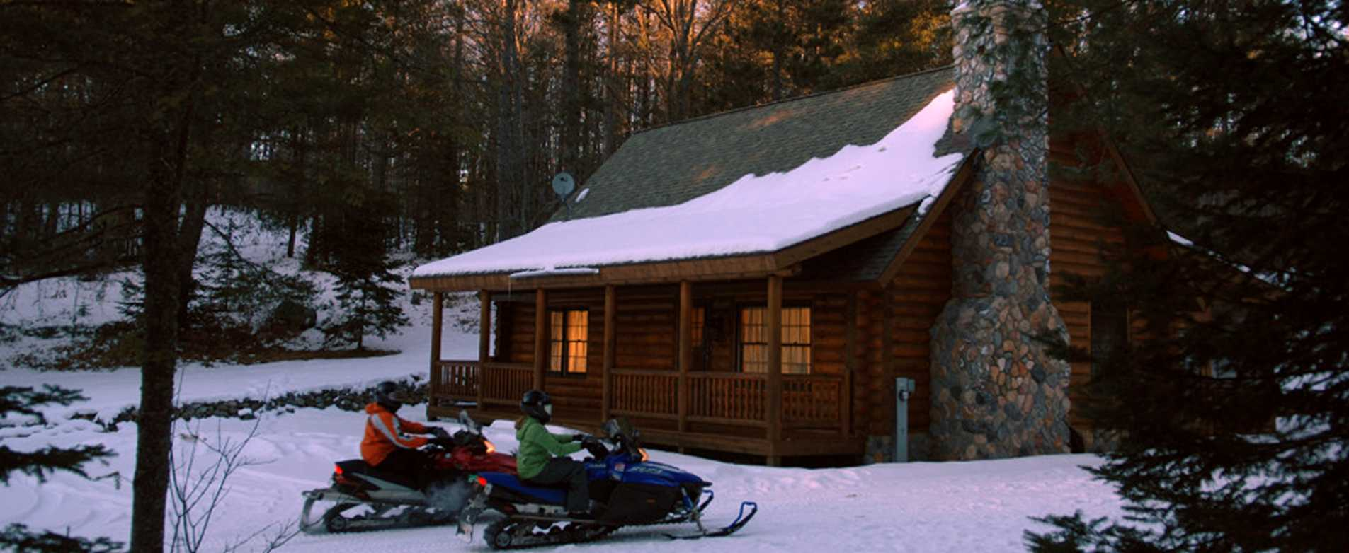 Snowmobile Cabin