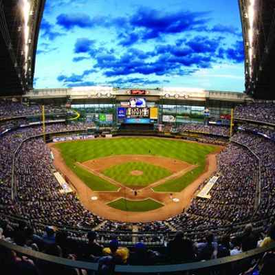 Panoramic view of Miller Park