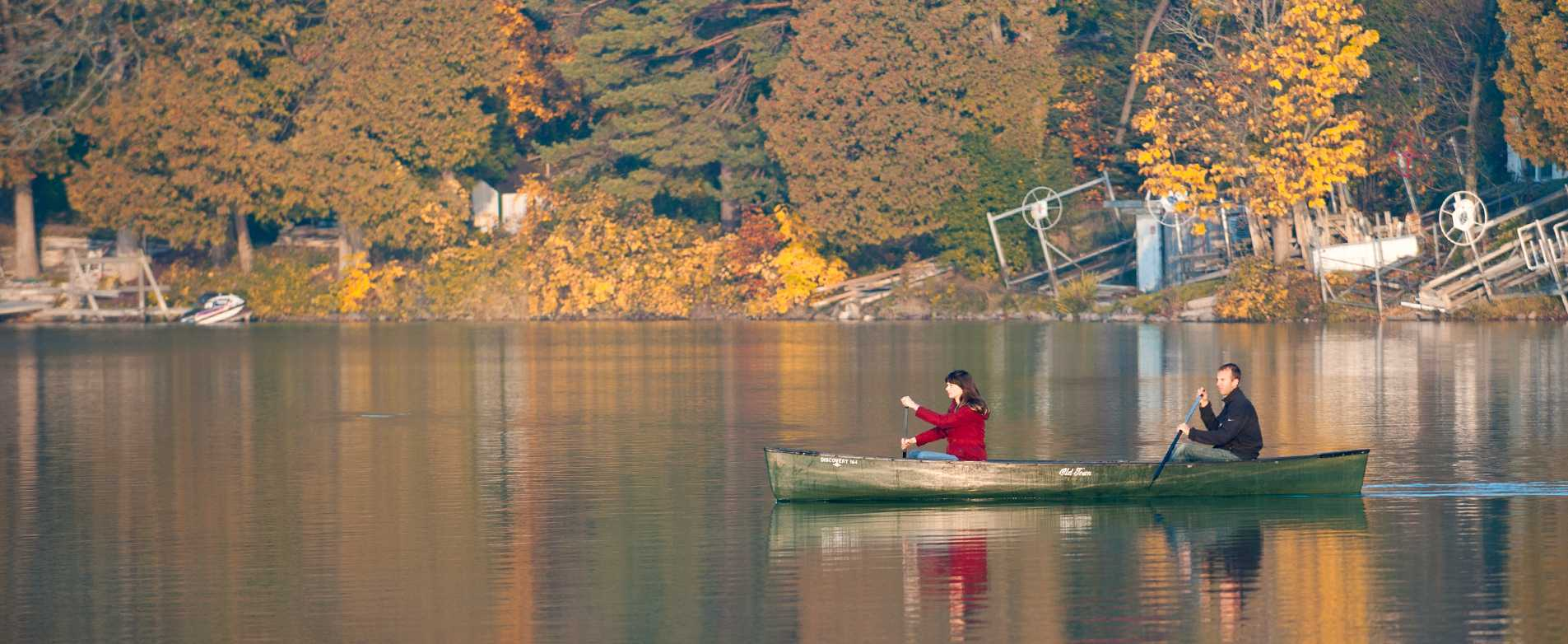 Canoeing Fall