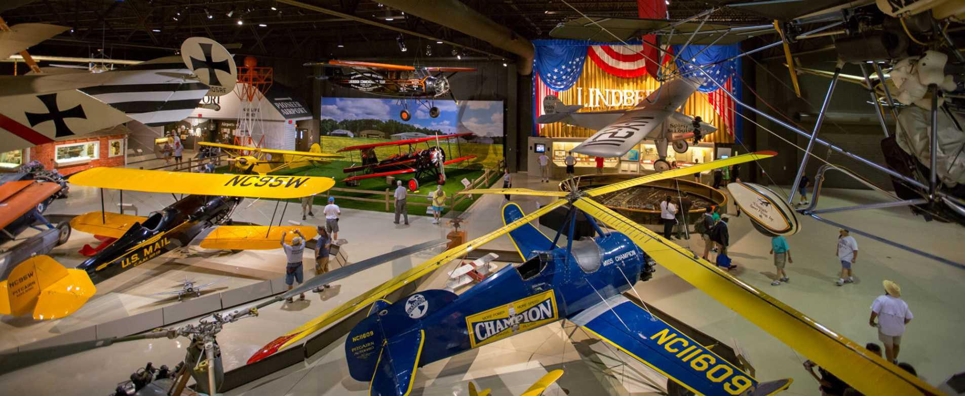 Airplane Exhibit at EAA AirVenture Museum