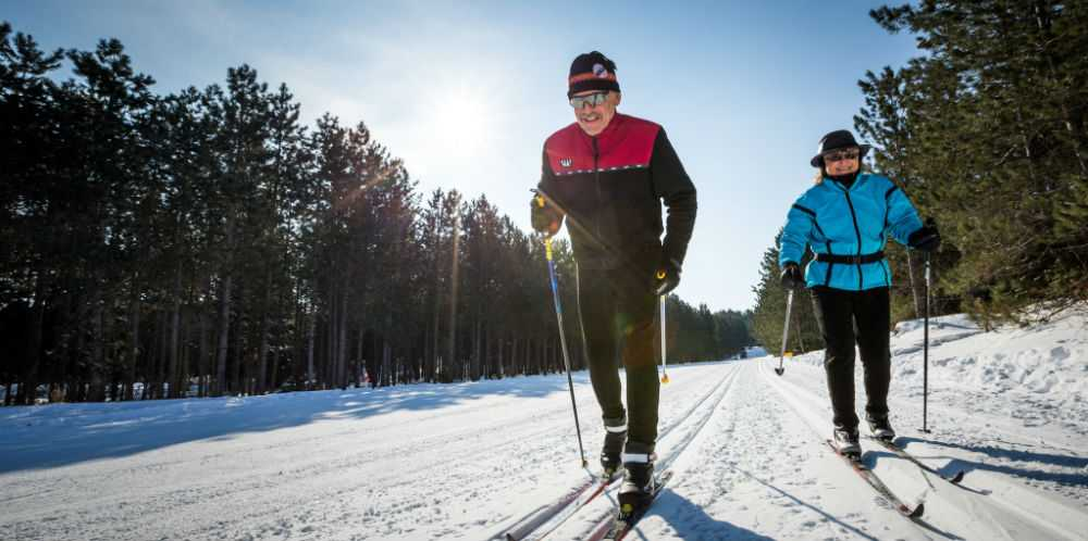 Nine Mile Forest Cross-Country Skiing 04