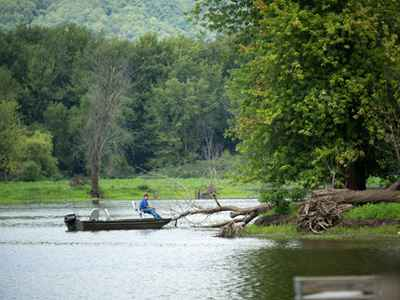 Fishing and Boating - Wyalusing State Park
