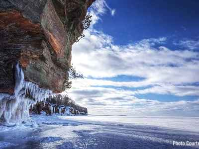 Apostle Islands Frozen Ice Caves