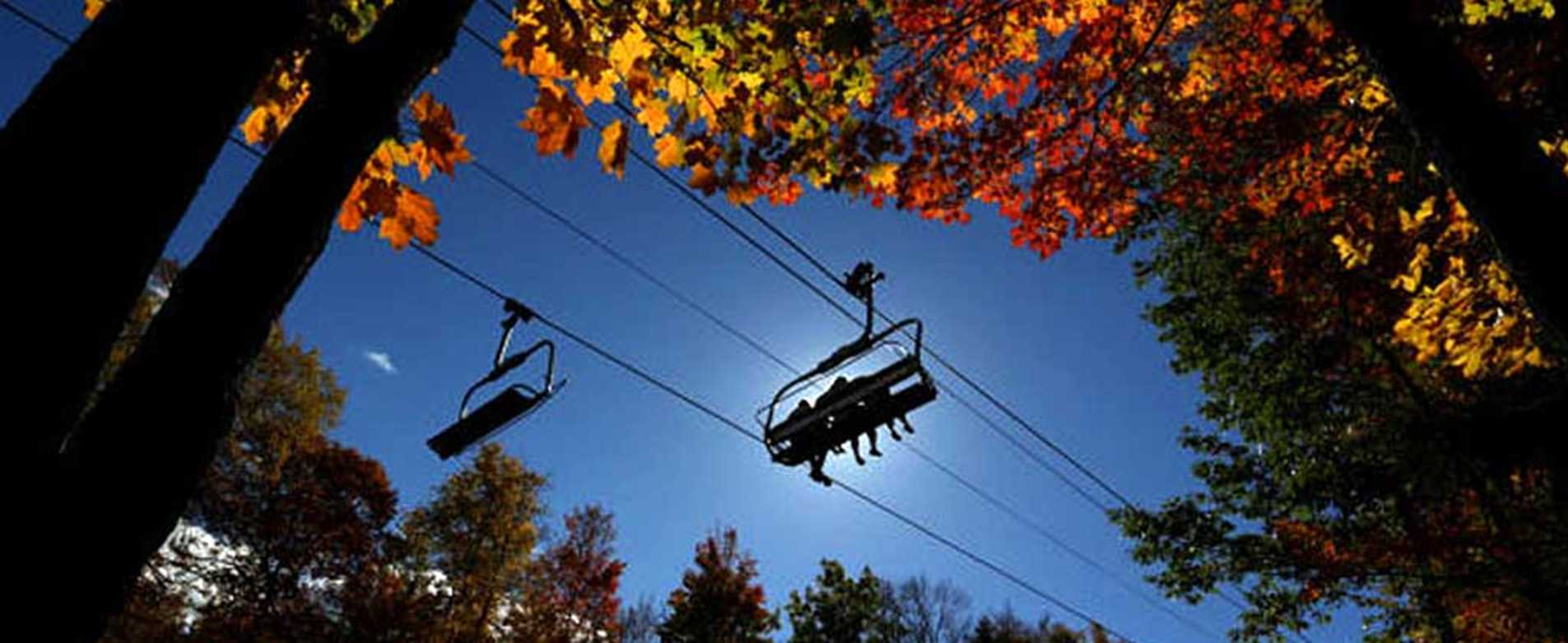 Fall Colors Comet Sky Ride
