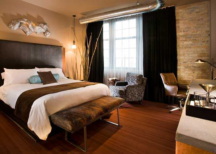 Flat-style room at The Iron Horse