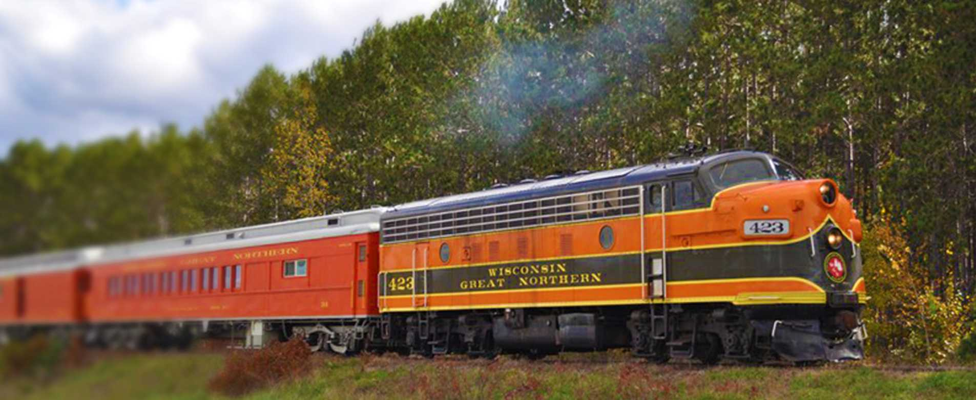 WI Great Northern Railroad Excursion Train