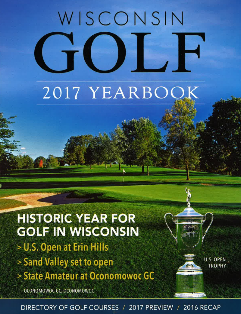 2017 Wisconsin Directory of Golf Courses