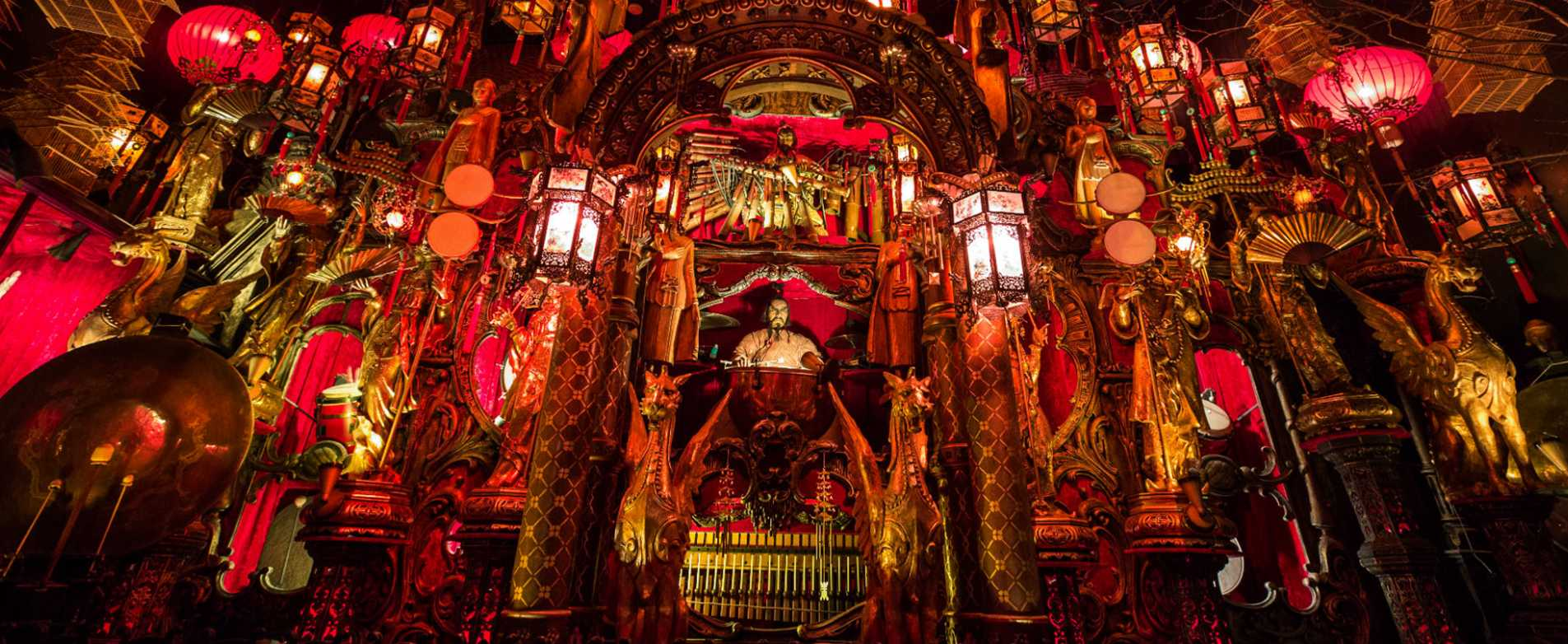 Oriental Music Display at House on the Rock