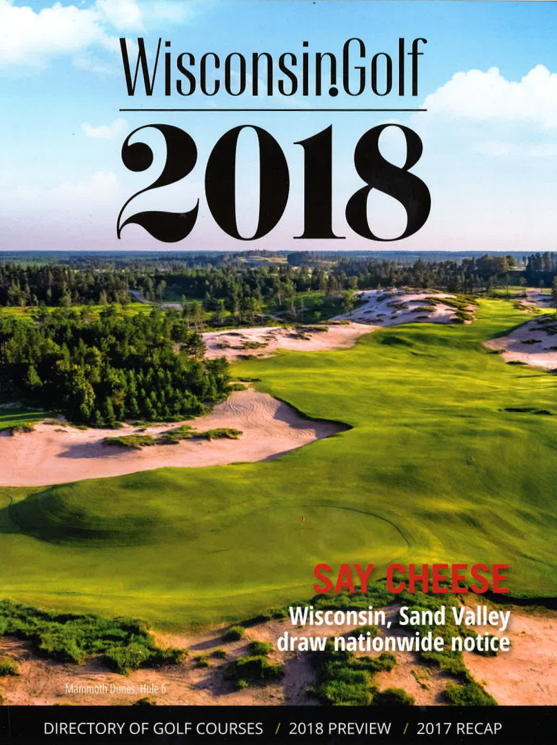 2018 Wisconsin Directory of Golf Courses