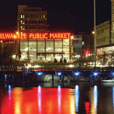 Exterior view of Milwaukee Public Market