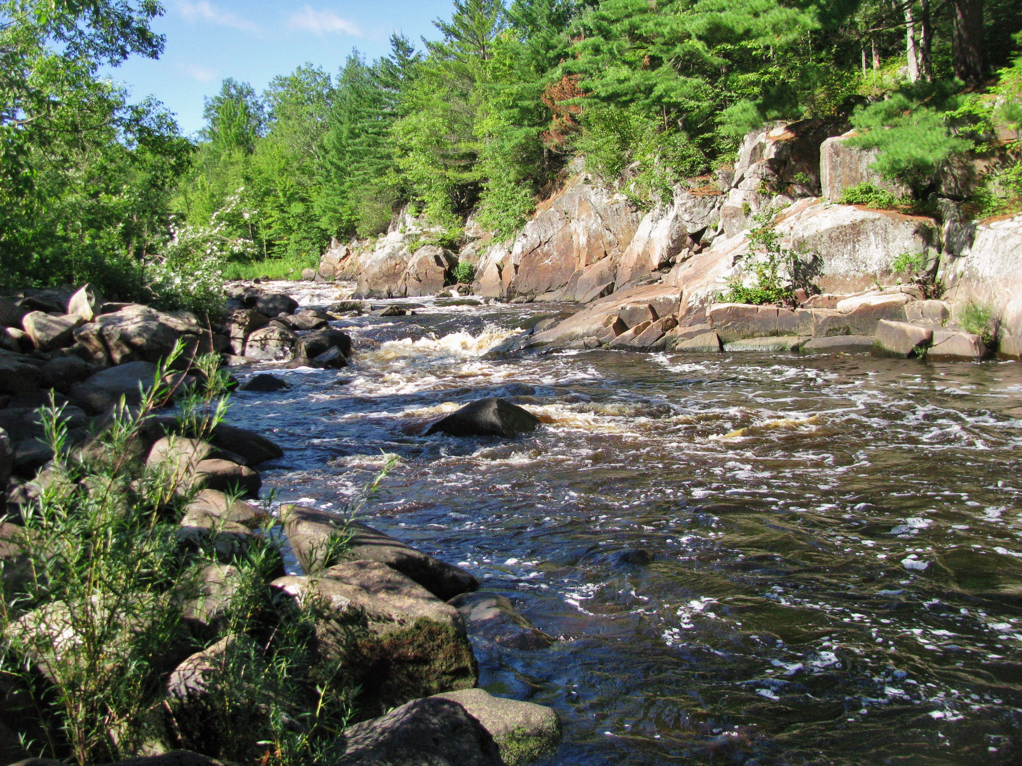 Big Falls County Park & Campground | Travel Wisconsin