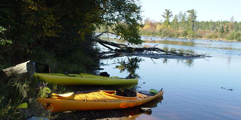 North Fork Flambeau River Oxbo to Hwy W