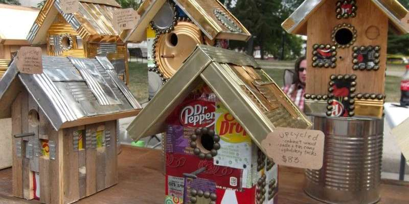 Handcrafted birdhouses for sale