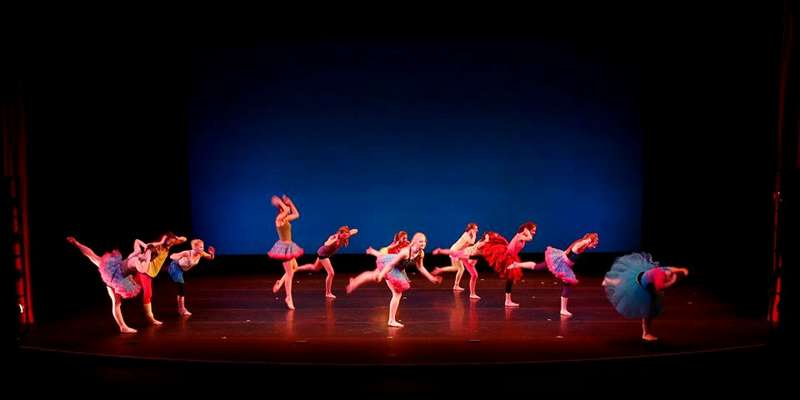 Point Dance Ensemble Performing on Sentry Theater sStage