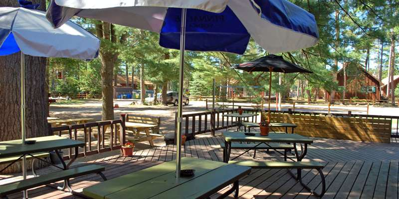 The Timbers Bar & Grill-Outside Deck