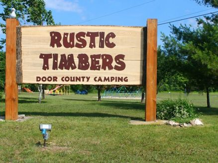 Image for Rustic Timbers Door County Camping