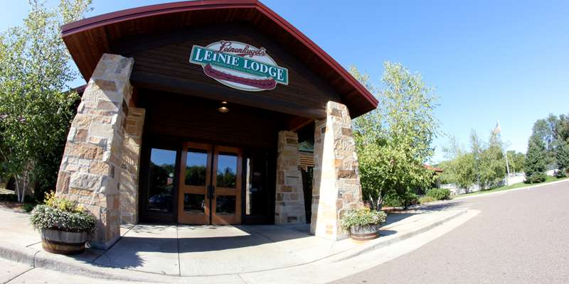 Leinie Lodge entrance