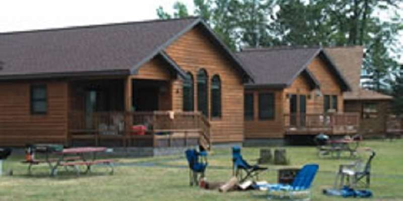 Stay in one of our beautiful cabins