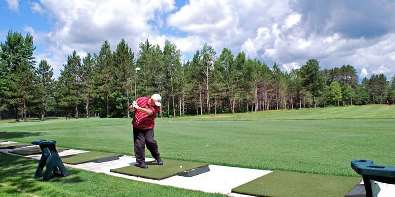 St. Germain Golf Club-Driving Range