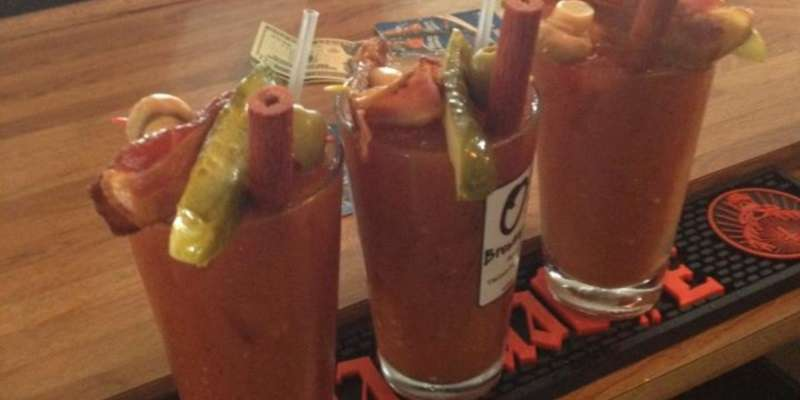 Bloody Marys at Peninsula Pub