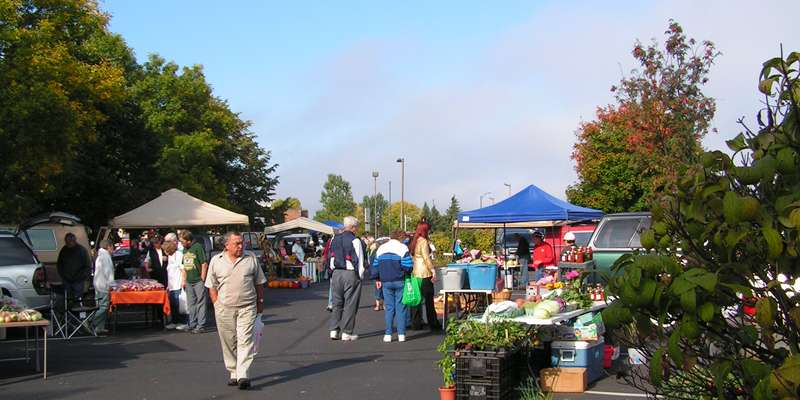 Parking Lot Farmers Market