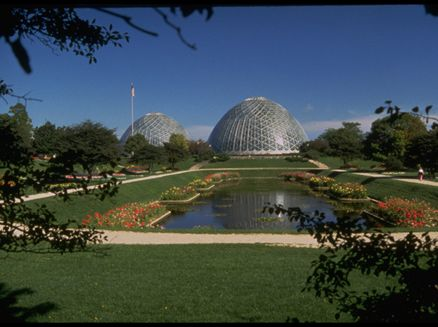 Image for Mitchell Park Conservatory Domes