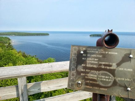 Image for Five State Parks in Door County