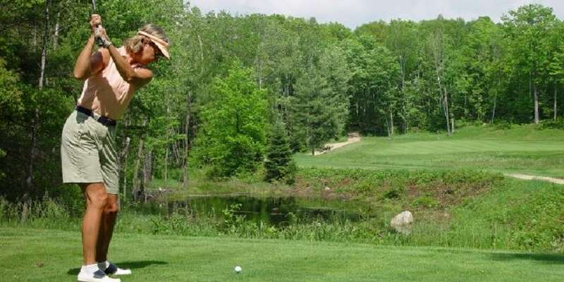 Our beautiful course nestled in the Chequamegon National Forest