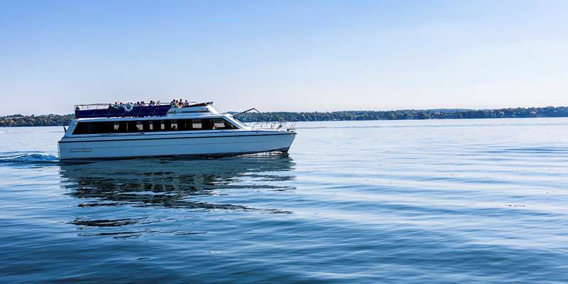 Take a cruise on the Escapade Yacht.