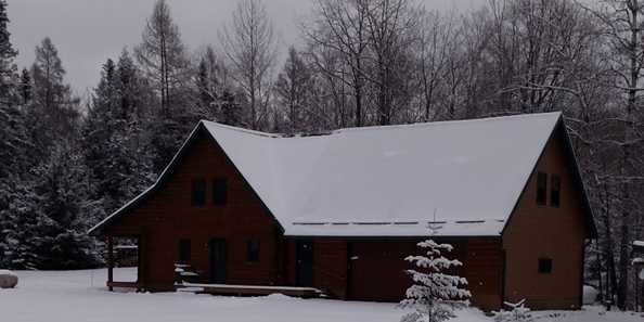 Our Cozy Suite is open all seasons. We are on the snowmobile trails in winter and ATV/UTV trails spring, summer and fall!