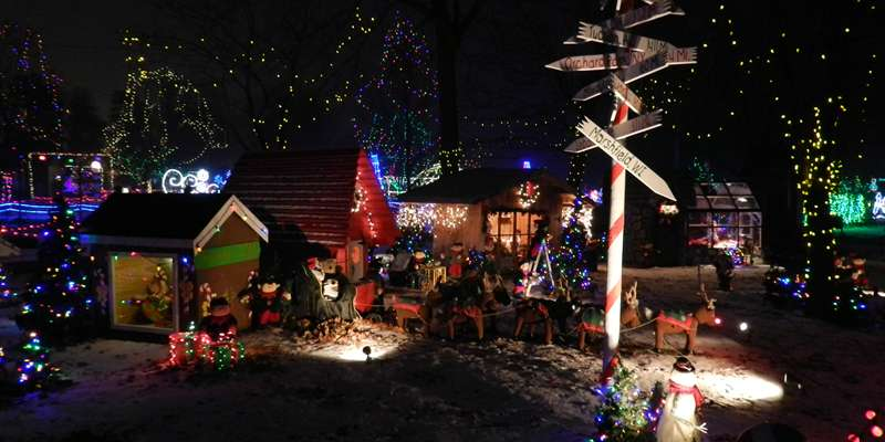 "Rotary ""Winter Wonderland"" at the Zoo each December!"