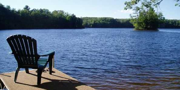Relax on one of our 2 decks overlooking the beautiful Tiger Cat Flowage...