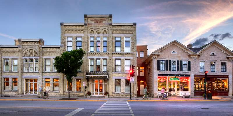 Located in the center of historic downtown Cedarburg.