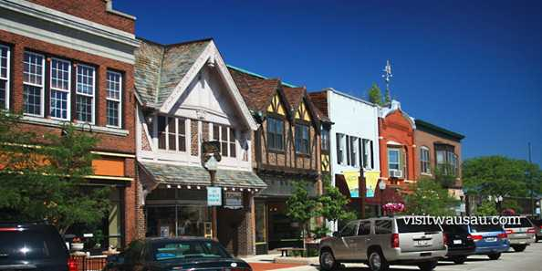 Quaint boutique shopping in downtown Wausau.