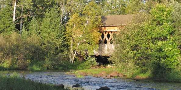 Smith Rapids Covered Bridge - South Fork Flambeau River