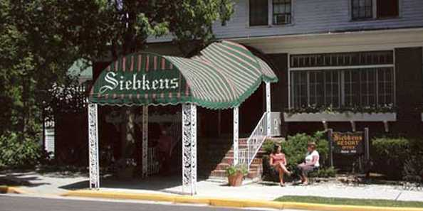 Siebkens Resort is a landmark dating back to 1916.