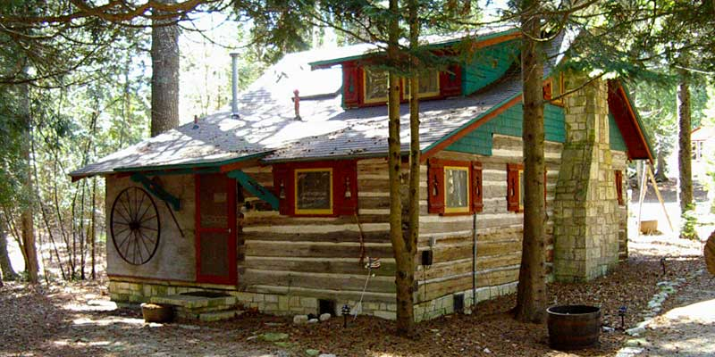 Loc Haven Log Cabins Travel Wisconsin