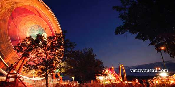 Thrills abound at the Wisconsin Valley Fair.