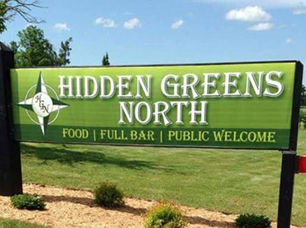 Image for Hidden Greens North