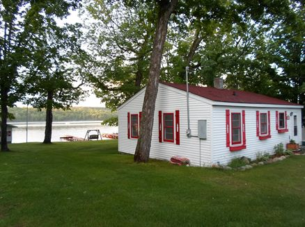 Image for A Cozy Lakefront Cottage and Custom Built Home