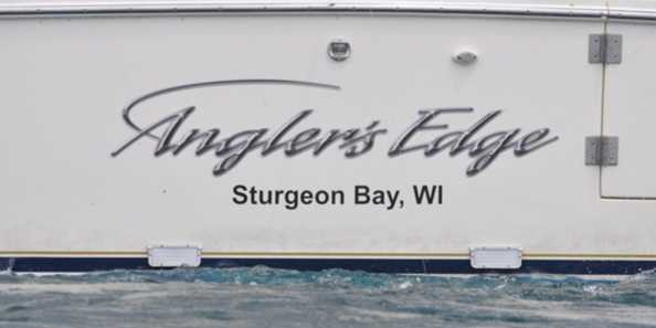 "Angler's Edge Lake Michigan Salmon Fishing Charters located in Sturgeon Bay, WI is dedicated to bringing the thrill of Lake Michigan salmon fishing directly to you. Our boat is fully equipped with top-of-the-line Shimano products. A guided fishing charter to the famous ""Bank Reef"" out of Sturgeon Bay on Lake Michigan is something that the whole family can enjoy, book your Salmon & Trout fishing trip today!"