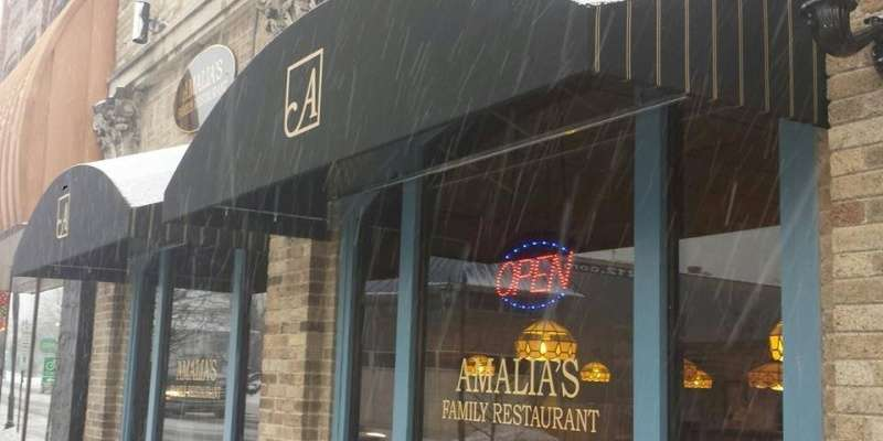 Amalia's Family Restaurant in downtown Oconomowoc.