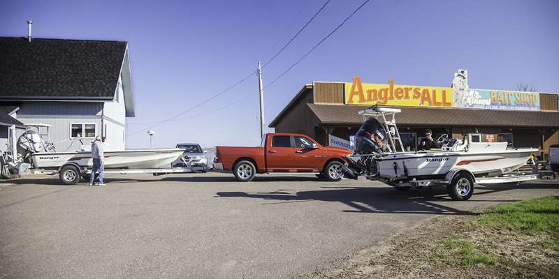 Anglers All is located in Ashland, Wisconsin, on the south shore of Lake Superior inside Chequamegon Bay.